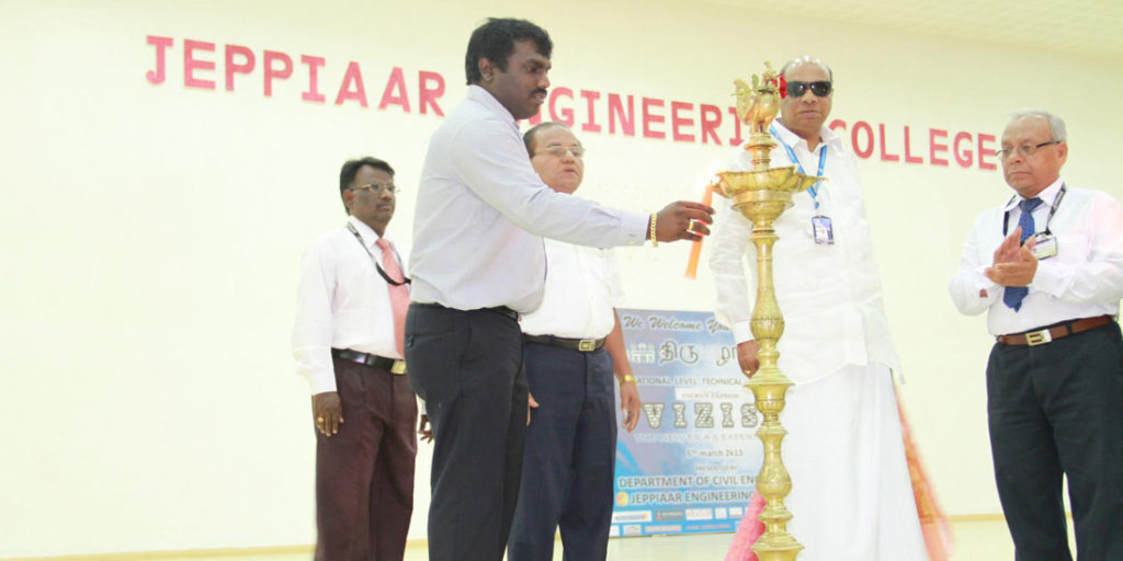 Symposium at Jeppiar Engineering College