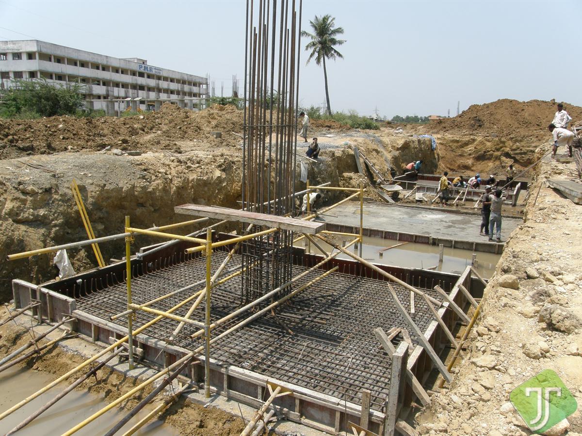Factory Building at Maduravayal