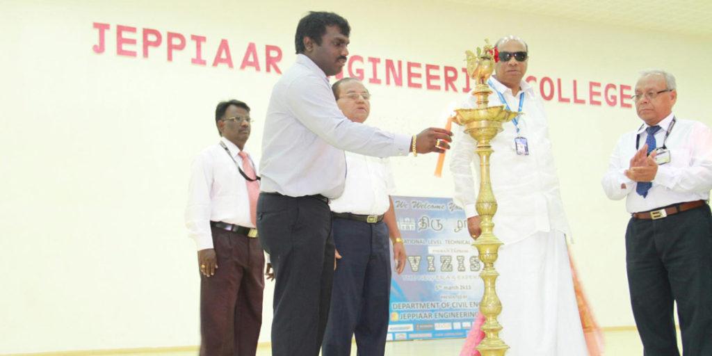 Symposium at Jeppiar Engineering College